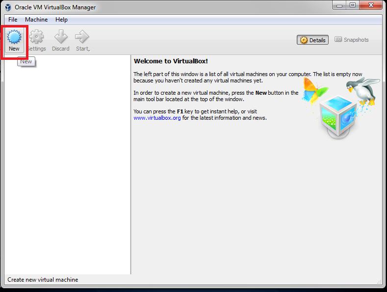 برنامج VirtualBox لإنشاء الأنظمة الوهمية