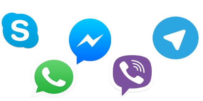 أفضل خمسة تطبيقات للتراسل الفوري والمحادثة