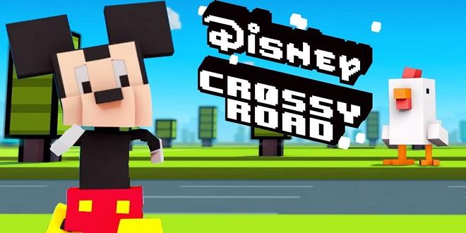 للتسلية والمتعة إليكم لعبة Disney Crossy Road