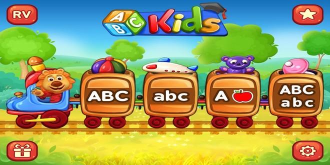 تطبيق ABC Kids لمساعدة الأطفال في تعلم لفظ الاحرف وكتابتها