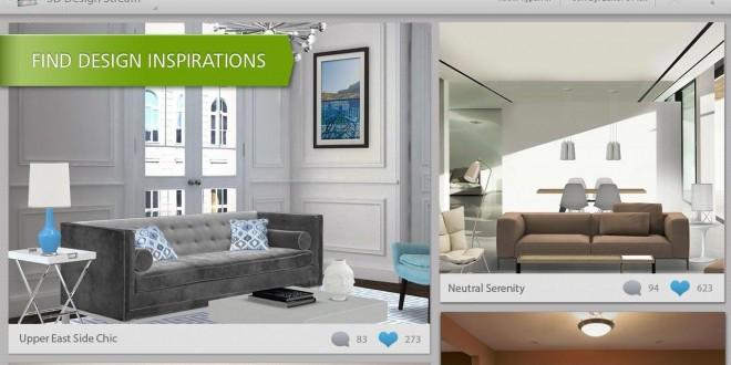 تطبيق HomeStyler الثلاثي الأبعاد 3D لتصميم الديكور الداخلي للمنزل