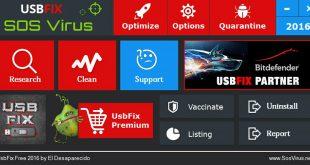 التخلص من الفيروسات المزعجة على أجهزة USB مع برنامج UsbFix