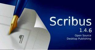 برنامج Scribus لتصميم أغلفة المجلات والكتب بشكل مميز واحترافي