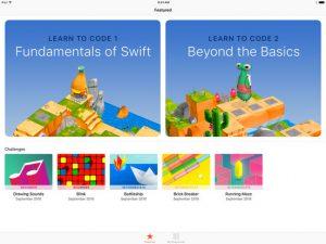 تطبيق Swift Playgrounds لتعليم برمجة تطبيقات الايفون بشكل مميز وبسيط