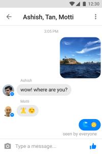 Messenger Lite هو تطبيق فيسبوك ماسنجر للأجهزة الضعيفة والانترنت البطيء