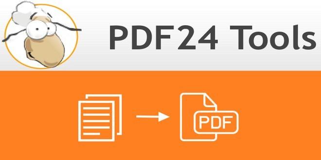 برنامج PDF24 لتحويل ما تريده من مستندات أو صور الى ملفات PDF