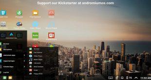 تطبيق Andromium OS لتحويل هاتفك الذكي إلى شكل مشابه للحاسب