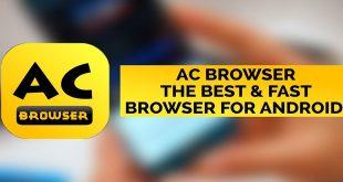 متصفح AC Browser يقدم لمستخدميه تصفح سريع وبحجم صغير