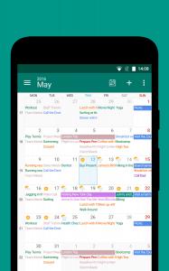 تطبيق DigiCal هو تقويم مميز لتنظيم أعمالك واستغلال وقتك بشكل رائع