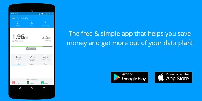 وفر نقودك مع تطبيق MyDataManager لمراقبة استهلاك البيانات