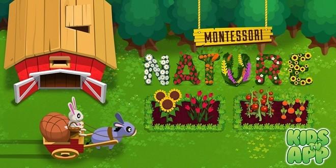 Montessori Nature لعبة مزرعة مخصصة لأطفالك