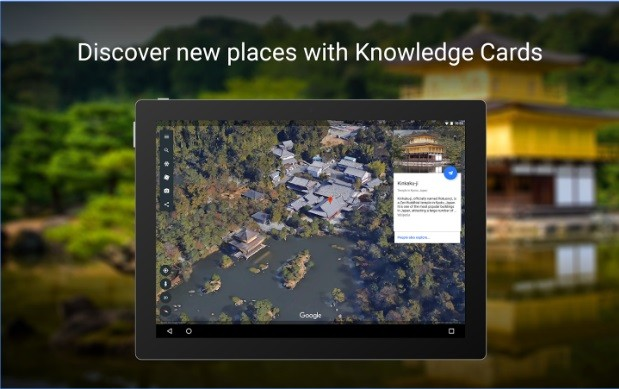 استكشف العالم من خلال تطبيق Google Earth الممتع