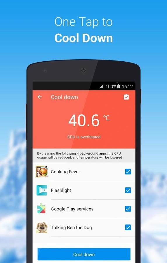 تطبيق CPU Cooler Master يرصد حرارة هاتفك ويحميه