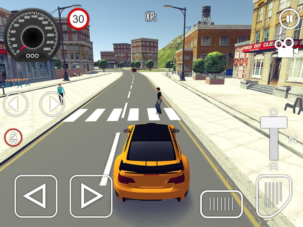 تطبيق Driving School 3D لتعليم قيادة السيارات