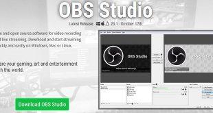 برنامج OBS Studio متخصص بالبث المباشر من حاسبك