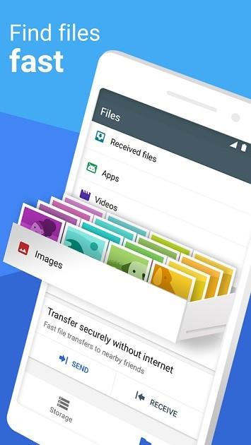 تطبيق Files Go من جوجل لزيادة مساحة هاتفك ومشاركة الملفات